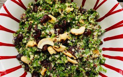 Grünkohl – Quinoa – Salat